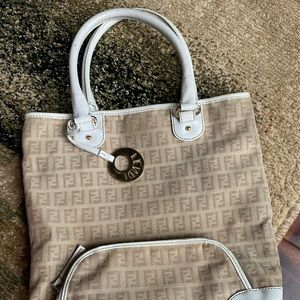 Authentic Fendi Tote Bag